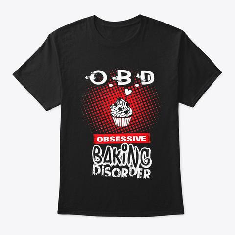 Love Baking Black T-Shirt Front