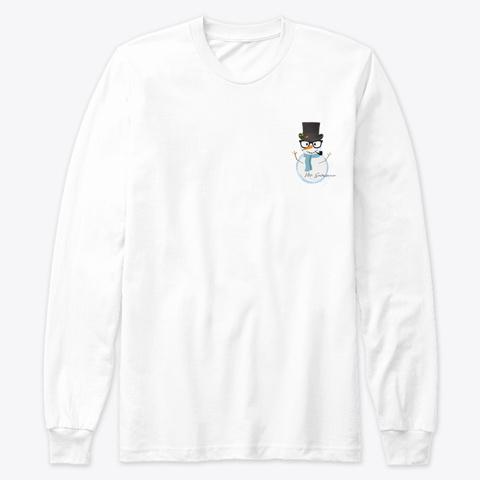 Mr. Snowman White T-Shirt Front