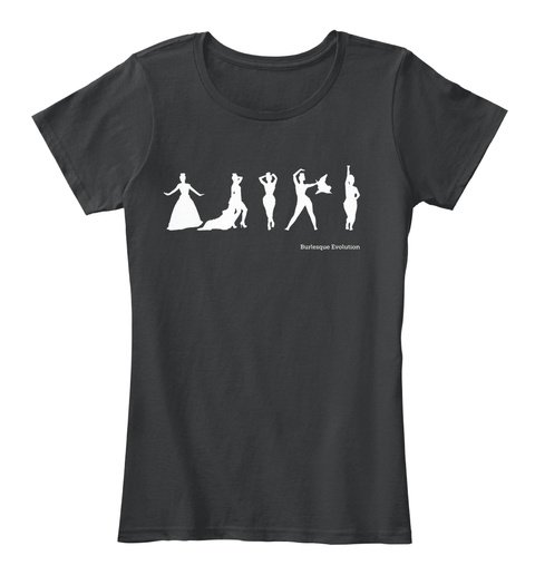 Burlesque Evolution Black T-Shirt Front