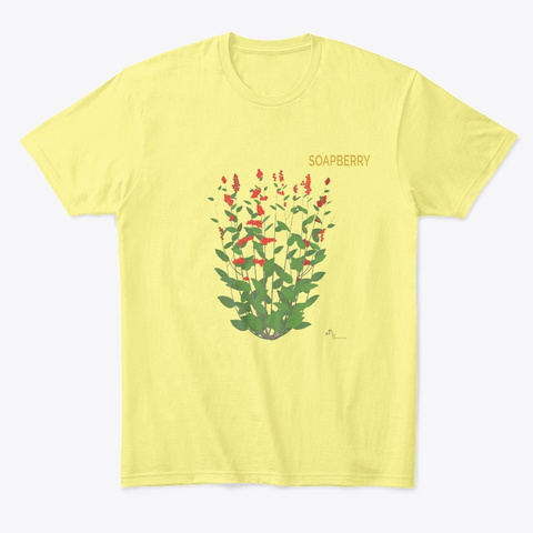 Soapberry Lemon Yellow  T-Shirt Front
