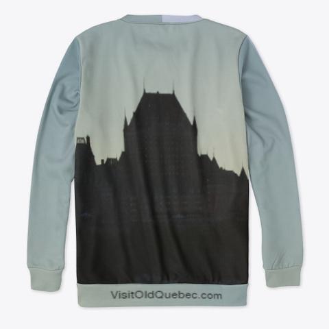 Chateau Frontenac Sweatshirt Standard T-Shirt Back