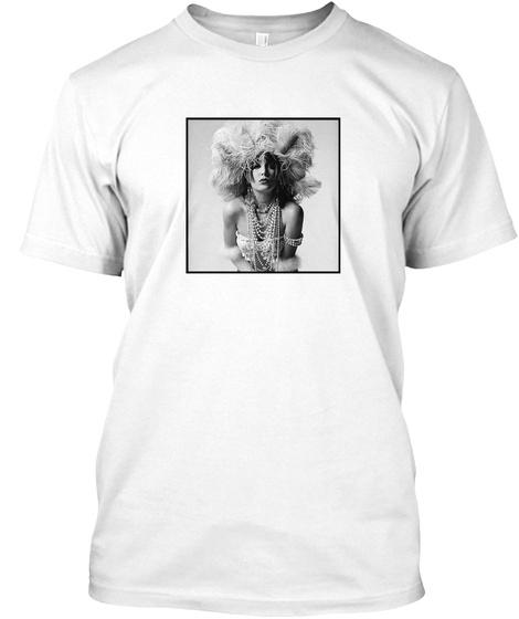 Inger   Feathers Premium Tee Shirt White T-Shirt Front