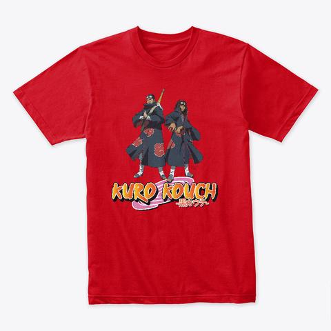 Kuro Kouch No Jutsu Red T-Shirt Front