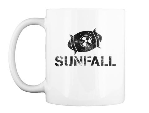 Sunfall White T-Shirt Front