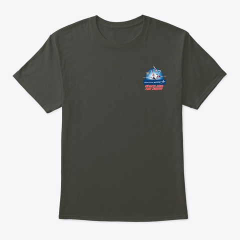 2020 Lmsas Official Event T Shirt  Smoke Gray T-Shirt Front