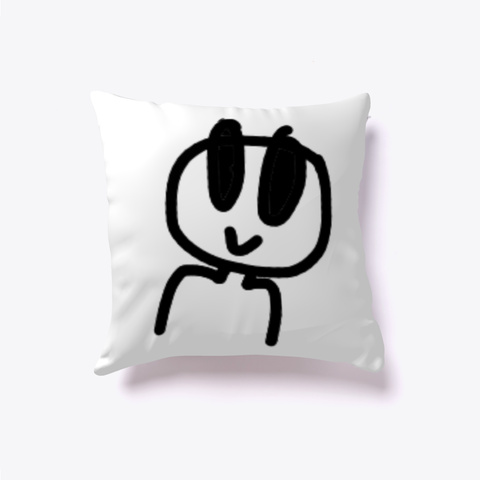 Pillow  White Camiseta Front