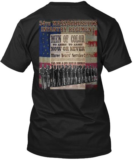 54th Massachusetts Infantry Regiment Unisex Tshirt
