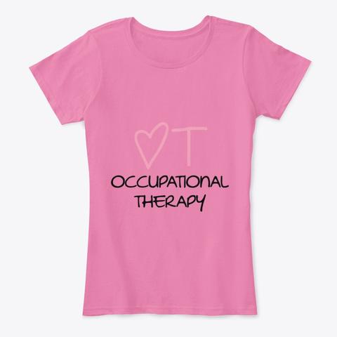 "I ""Heart"" Ot True Pink T-Shirt Front"