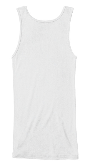 Pinky Womens Tank Top White Women's Tank Top Back