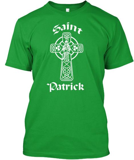 Saint Patrick  Kelly Green T-Shirt Front