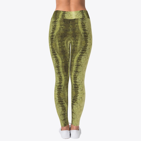 Largemouth Bass Leggings Standard T-Shirt Back