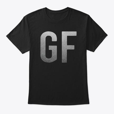 Gf T Shirt Black T-Shirt Front