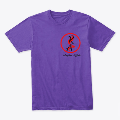 Rhythm Affair Mens T Purple Rush T-Shirt Front
