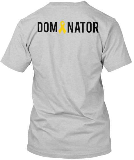 Dominator Light Steel T-Shirt Back