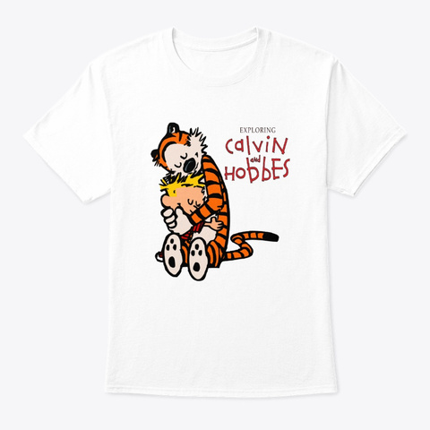 calvin and hobbes t shirt