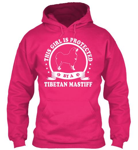 Tibetan Mastiff Gift Shirt Heliconia T-Shirt Front