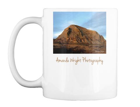 Amanda Wright Photography White T-Shirt Front