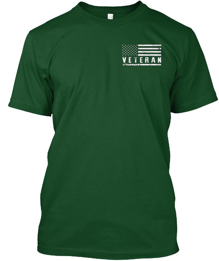 American-War-Vets-Community-Veteran-This-Oath-Never-Hanes-Tagless-Tee-T-Shirt thumbnail 6