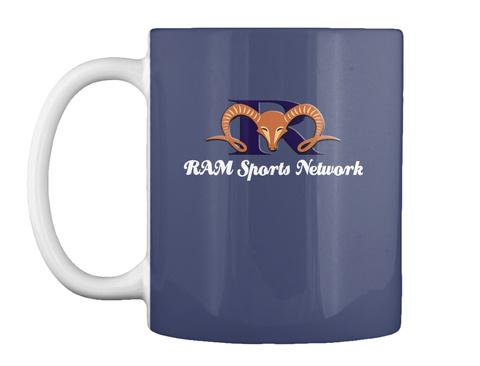 Ram Sports Network Dk Navy Mug Front