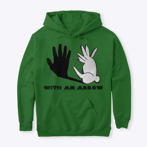 Sleight Of Hand Rabbit Apparel Irish Green T-Shirt Front