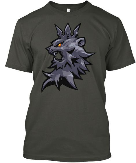 Reinhardt Spray   High Quality Art Smoke Gray T-Shirt Front