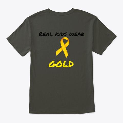 Real Kids Wear Gold Smoke Gray T-Shirt Back