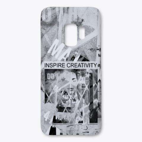 Inspire Creativity Black T-Shirt Front