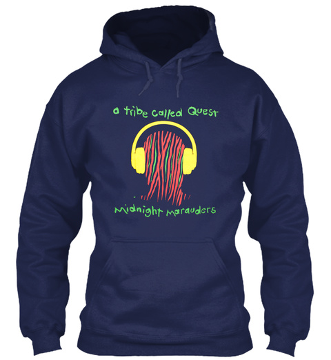 A Tribe Called Quest Midnight Marauders Navy Sweatshirt Front