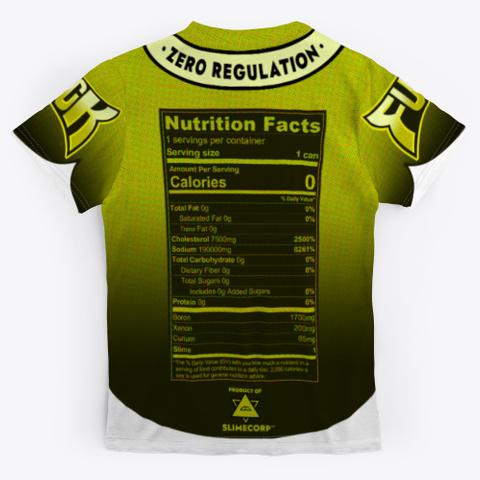 Fuck Energy   Ultimate Urine Standard T-Shirt Back