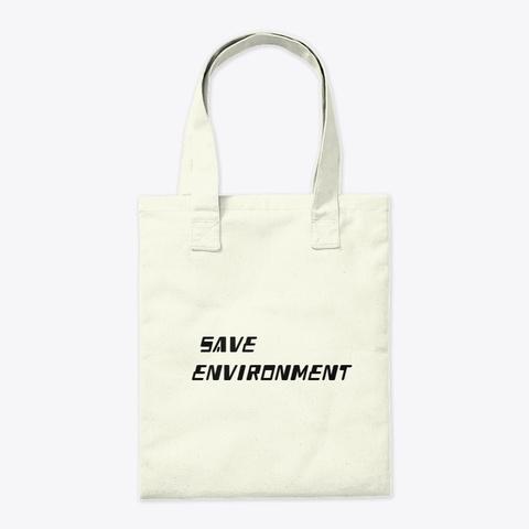 Save Humanity Product Natural T-Shirt Back