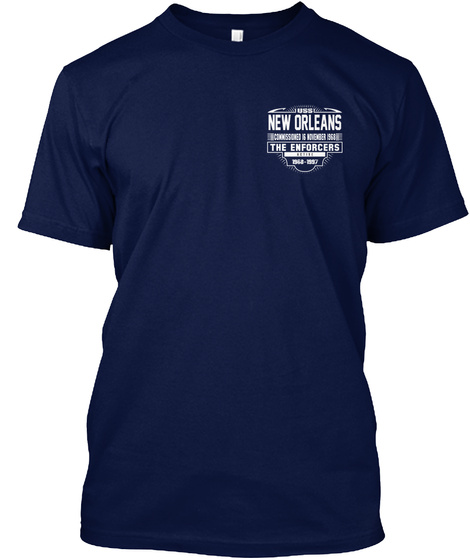 New Orleans Navy T-Shirt Front