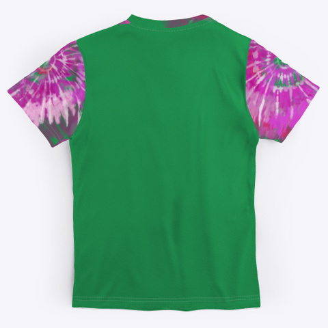 La Jefa Del Bloke Exclusive Tie Die Tee Green T-Shirt Back