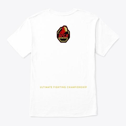 Knuckles Up! Beatdown Design! White T-Shirt Back
