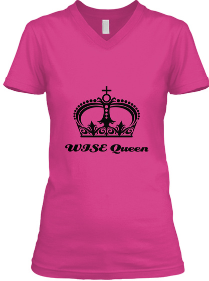 Wise Queen Berry T-Shirt Front