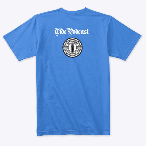 Freedom=Freedom Vintage Royal T-Shirt Back
