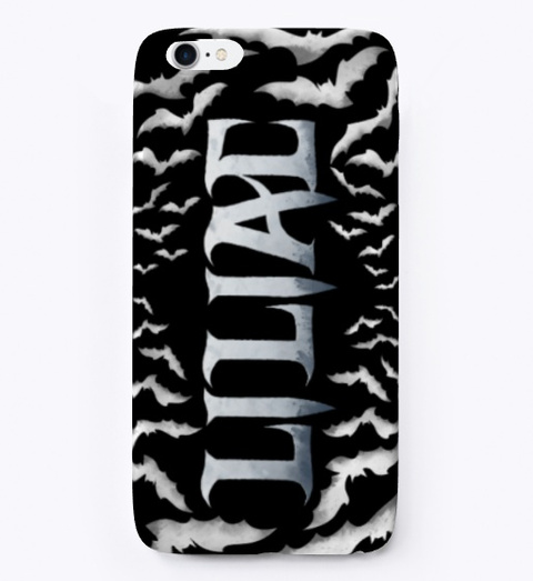 Liliac I Phone Case Black T-Shirt Front