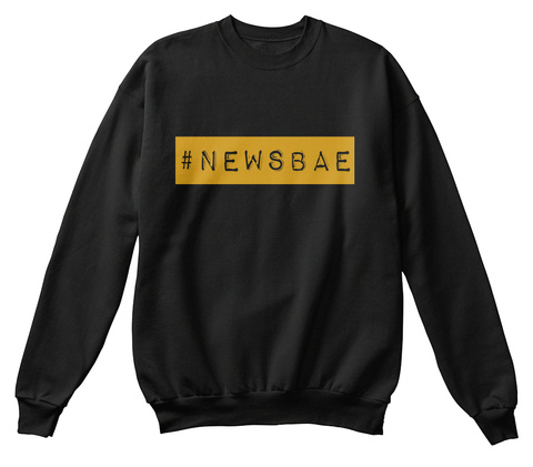 #Newsbae Black Sweatshirt Front