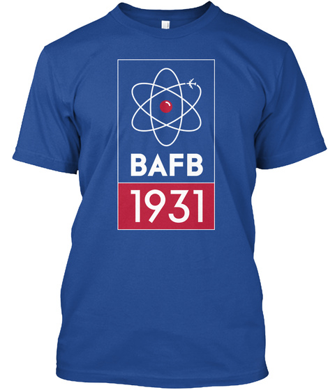 Bafb 1931 Deep Royal T-Shirt Front