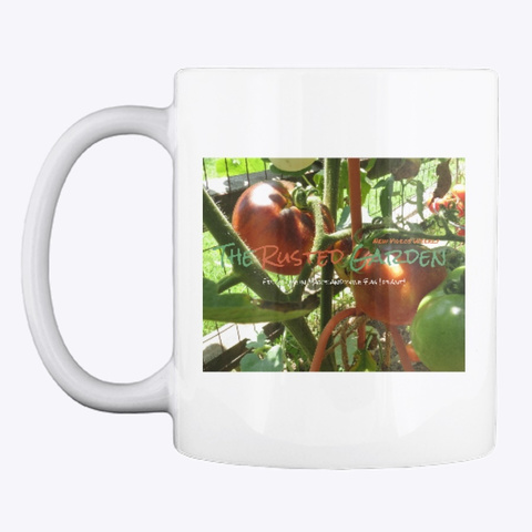 The Rusted Garden Coffee Mug White T-Shirt Front