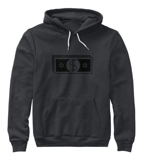 Shelton  Dark Heather Grey T-Shirt Front