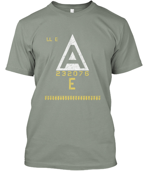 Ll E A 232076 E Grey T-Shirt Front