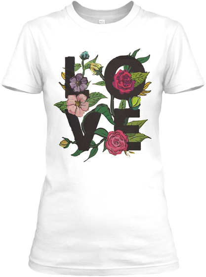 Love Valentines Day   Women's T Shirt White T-Shirt Front