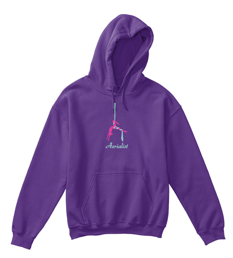 Aerialist Purple T-Shirt Front