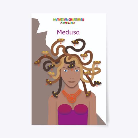 Medusa – 'R' Amazing Poster Standard T-Shirt Front