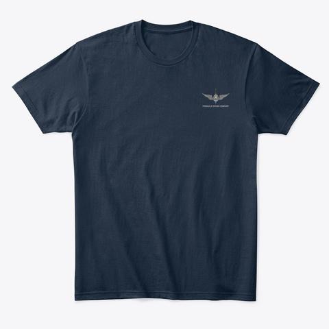 Pdc Dive Flag Shirt Men's New Navy T-Shirt Front