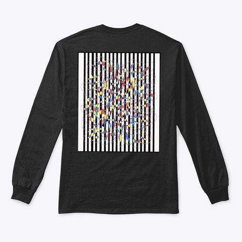 Riley Candow Art   Drop 2 Black áo T-Shirt Back