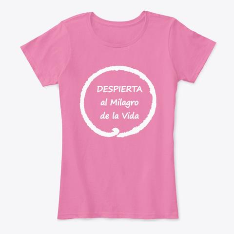 Ropa Consciente Meditación Y Mindfulness True Pink Camiseta Front