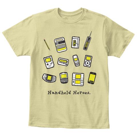 Handheld Heroes   Mixup (Uk/Eu) Sand T-Shirt Front