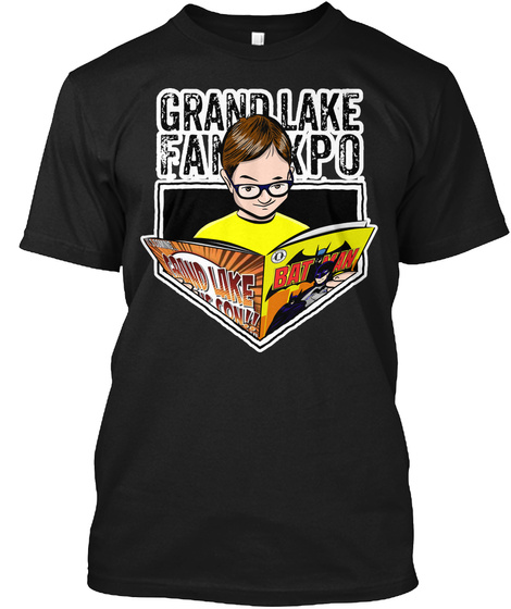Grand Lake  Fankpo Black T-Shirt Front