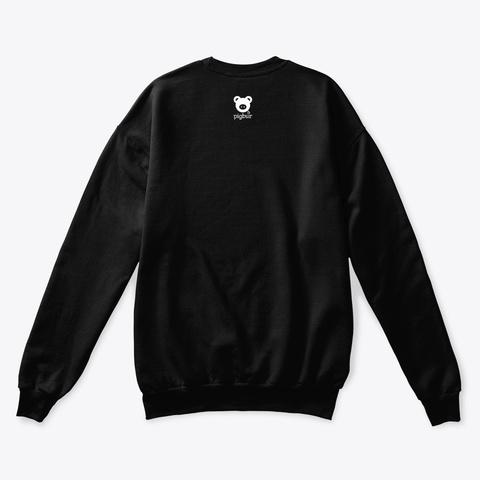 Pigbur Short Sleeve Tee Black T-Shirt Back